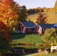 farm in fall